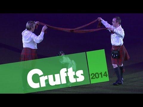 Dans scoţian cu… căţel !