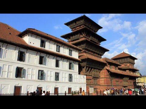 (Hanuman Dhoka Durbar- Basantapur, Kathmandu, Nepal ... 4 min, 32 sec)