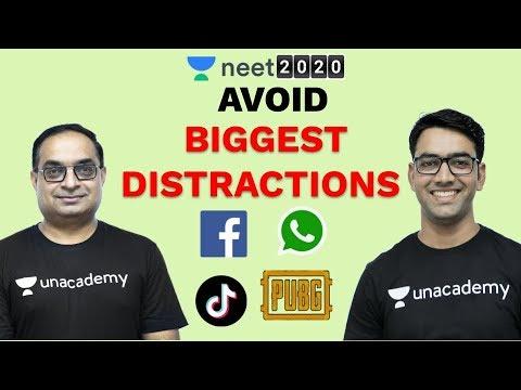 NEET 2020 - Avoid Distractions | Phone Addiction | Social Media Addiction | Unacademy NEET