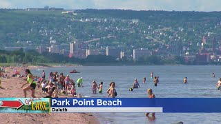 It's known as one of the most beautiful beaches in the Midwest, Jason DeRusha and Matt Brickman reports (1:25). WCCO 4 News At 6 – July 27, 2017