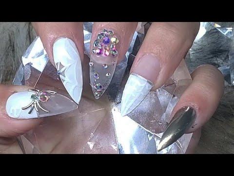 Diseños de uñas - UÑAS DE INSTAGRAM (diseño de Halloween)