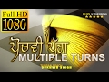 MULTIPLE TURNS TUTORIAL in MORNI TURBAN  FULL VIDEO  SUKHVIR SINGH waptubes
