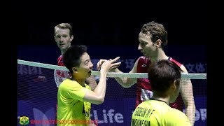 Video UNSTOPPABLE MINIONS | Doubles Finals Kevin/Gideon vs Boe/Mogensen Tahoe China Open 2017 MP3, 3GP, MP4, WEBM, AVI, FLV Februari 2018