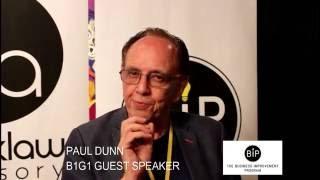 Paul Dunn – Guest Speaker