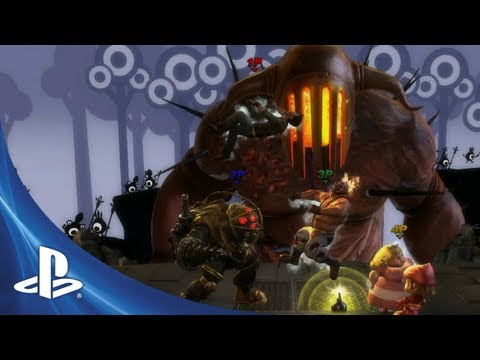 PlayStation All-Stars Battle Royale E3 Trailer
