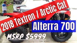 10. 2018 Textron Arctic Cat Alterra 700