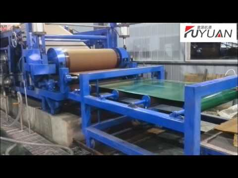 Insole board paper machine