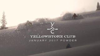 January 2017 Powder at Yellowstone Club