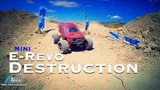 RC Trailblazr - Mini E-Revo Destruction Day - JUMP EDITION!!! - YouTube