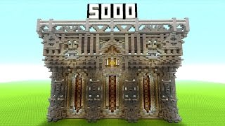 5000 Subscribers Thank You | Plus, Minecraft Castle Inspiration