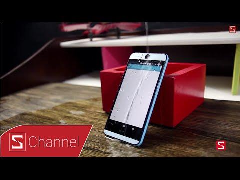 HTC Desire Eye: Thử khả năng chống nước