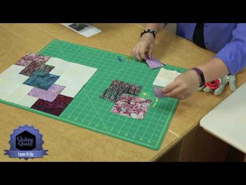 """patchwork - come realizzare il """"blocco batik"""""""