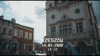 Opuszczone miasto – stan zagrożenia epidemicznego w Rzeszowie.