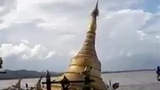 In central Myanmar, rising floodwater has swallowed a Buddhist pagoda. Myanmar has been hit by widespread flooding this month forcing tens of thousands of people to abandon their homes.Subscribe to us on YouTube: https://goo.gl/lP12gADownload our APP on Apple Store (iOS): https://itunes.apple.com/us/app/cctvnews-app/id922456579?l=zh&ls=1&mt=8Download our APP on Google Play (Android): https://play.google.com/store/apps/details?id=com.imib.cctvFollow us on:Facebook: https://www.facebook.com/ChinaGlobalTVNetwork/Instagram: https://www.instagram.com/cgtn/?hl=zh-cnTwitter: https://twitter.com/CGTNOfficialPinterest: https://www.pinterest.com/CGTNOfficial/Tumblr: http://cctvnews.tumblr.com/Weibo: http://weibo.com/cctvnewsbeijing