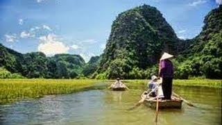 Ninh-Binh Le Halong Terrestre Du Vietnam ( Vietnam Ninh-Binh- Halong On Land)