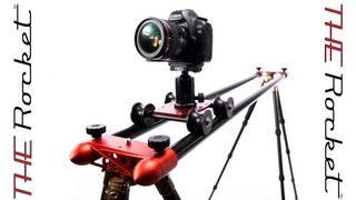 Find out more - http://www.aviatorcameragear.com/products-page/rocket-travel-slider/