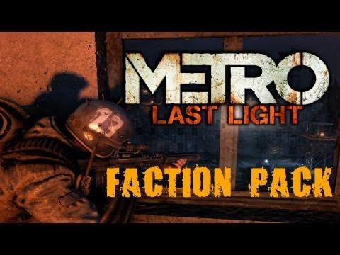 Metro Last Light (Faction Pack DLC) #1 [Красный снайпер]