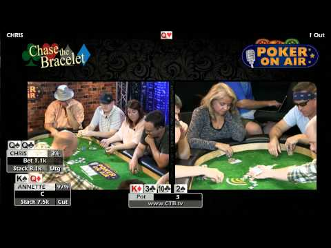 S5G6P1 CTB Chase The Bracelet Season 5 Game 6   Poker Game Show by Poker On Air
