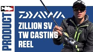 Daiwa Zillion SV TW Casting Reel - http://bit.ly/1TNeYXv Testing the latest-and-greatest from Daiwa, Tackle Warehouse, Brent...