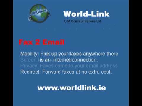 Fax to Email with World-Link