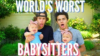 "World's WORST Babysitters  Brent RiveraGive this video a Thumbs Up if you enjoyed watching this video :) Subscribe to Taytum and Oakley's Channel!! https://www.youtube.com/channel/UCJTyunmsBLj20wyguh6uMigIf you're new here, don't forget to subscribe for weekly videos! Taytum and Oakley's Instagram: @TaytumandOakleyHang out with me on Social Media:SnapChat, Add me: TheBrentRiveraInstagram: @BrentRiveraTwitter: @BrentRiveraVine: @BrentRiveraFacebook: @BrentRiveraI have all rights to use this audio in this video according to Final Cut Pro's/YouTube's ""terms of use."""