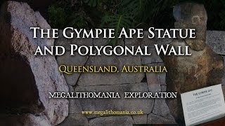 Gympie Australia  city photos gallery : The Gympie Ape Statue and Polygonal Wall - Megalithomania Australia Exploration