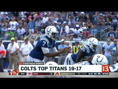 Colts top Titans 19-17