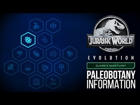 NEW PALEOBOTANY SCREEN! Brand New Details! | Jurassic World: Evolution Update