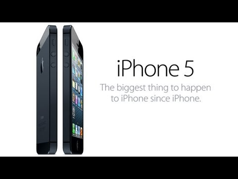 iphone 5 oficial video - iPhone 5 by Apple The biggest thing to happen to iPhone since iPhone. Creating an entirely new design meant inventing entirely new technology When we envisio...
