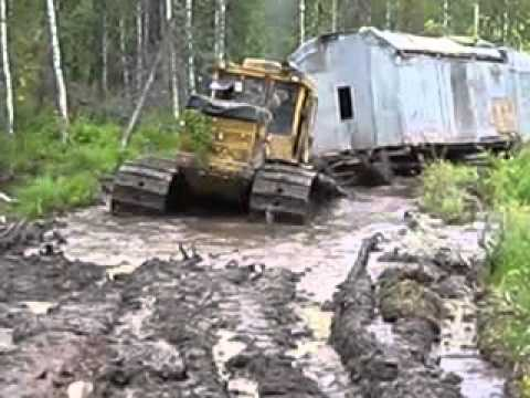 Работа геологоразведчиков на севере
