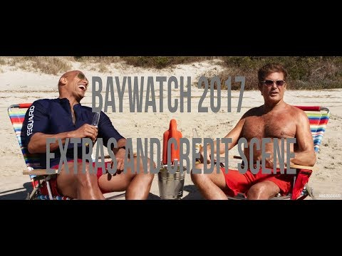 Baywatch 2017 Extras and Credit Scene