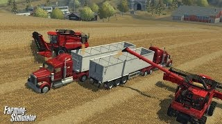 Farming Simulator videosu