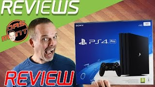 Playstation 4 Pro Review/Test + Vergleich mit PS4 Base - Unterschied - Das Monty - PS4Pro