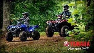 3. 2019 Yamaha Grizzly 90 Youth ATV
