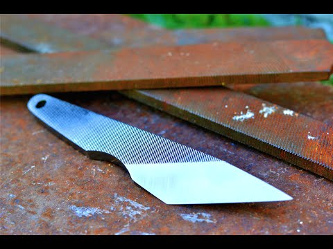 Киридаси или нож из старого напильника