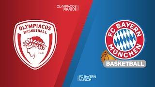 Olympiacos Piraeus - FC Bayern Munich Highlights   Turkish Airlines EuroLeague RS Round 27