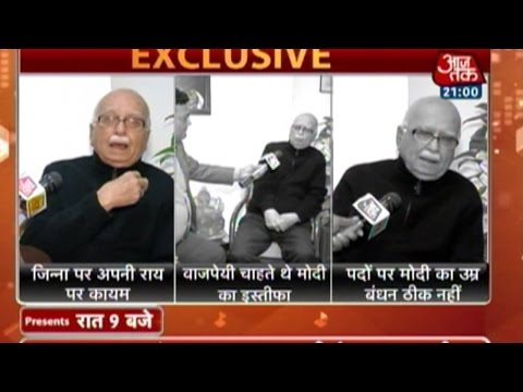 LK Advani: Will not take back comments on Jinnah