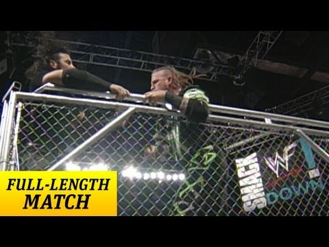 FULL-LENGTH MATCH - SmackDown - Hardy's vs. New Age Outlaws - Cage Match