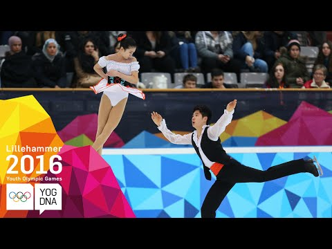 Figure Skating - Ice Dance - Free Skate - Full Replay | Lillehammer 2016 Youth Olympic Games