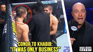 Video Conor McGregor apologized to Khabib mid fíght; Joe Rogan reacts to UFC 229; Dillon Danis vs RDA MP3, 3GP, MP4, WEBM, AVI, FLV Februari 2019