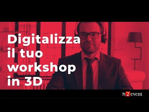 H2event - Presentazione servizi digitali per workshop e forum