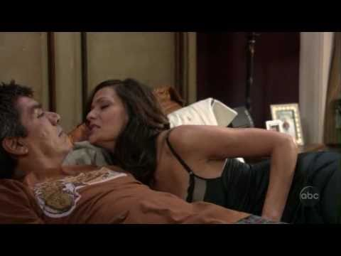 Angie Lopez/Constance Marie in sexy lingerie and carmen lopez Masiela Lusha in two sexy outfits