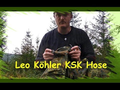 Produktreview Leo Köhler KSK Hose