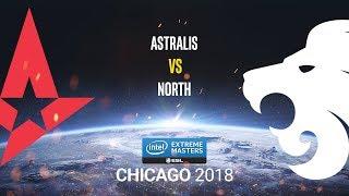 Astralis vs North - IEM Chicago 2018 - map2 - de_nuke [SleepSomeWhile & Anishared]