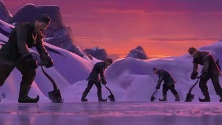 De Disney Frozen  Una Aventura Congelada Helado Corazón Español Latino HD