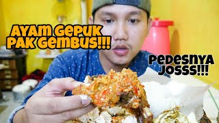 Video AYAM GEPUK SUPER PEDAS !!! SAMBALNYA BIKIN NANGIS!! MP3, 3GP, MP4, WEBM, AVI, FLV Mei 2019
