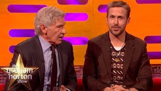 Harrison Ford Really Can't Remember Ryan Gosling's Name   The Graham Norton Show