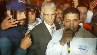 هاسبريس : وزير الحكامة الداودي يخرج في احتجاجات عمال سنترال دانون بسبب المقاطعة أمام البرلمان المغربي