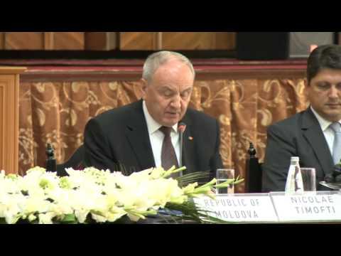Președintele Nicolae Timofti a participat la cea de-a IX-a Reuniune Informală a Grupului pentru Acţiunea Europeană a Republicii Moldova
