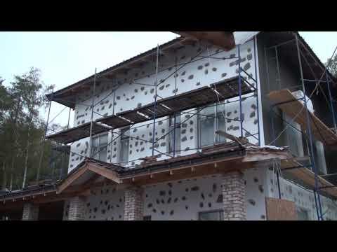 Как продвигаются работы по утеплению фасадов газобетонного дома
